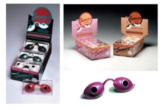 tanning bed goggles and eyewear